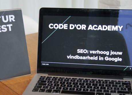 Code d'Or Academy: verhoog jouw vindbaarheid in Google