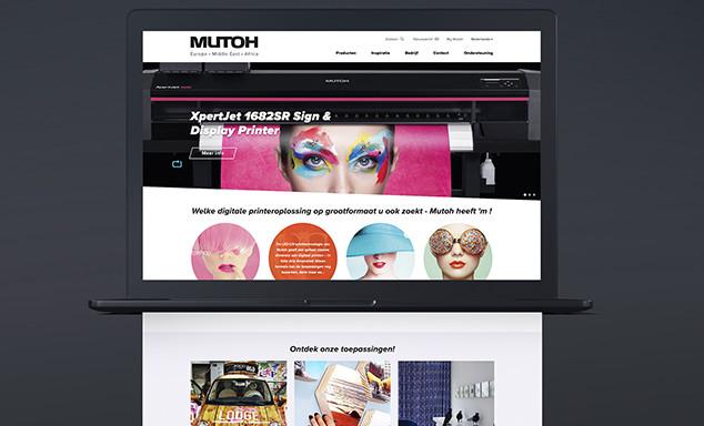 Mutoh drukt zijn stempel op de printwereld met dynamisch platform